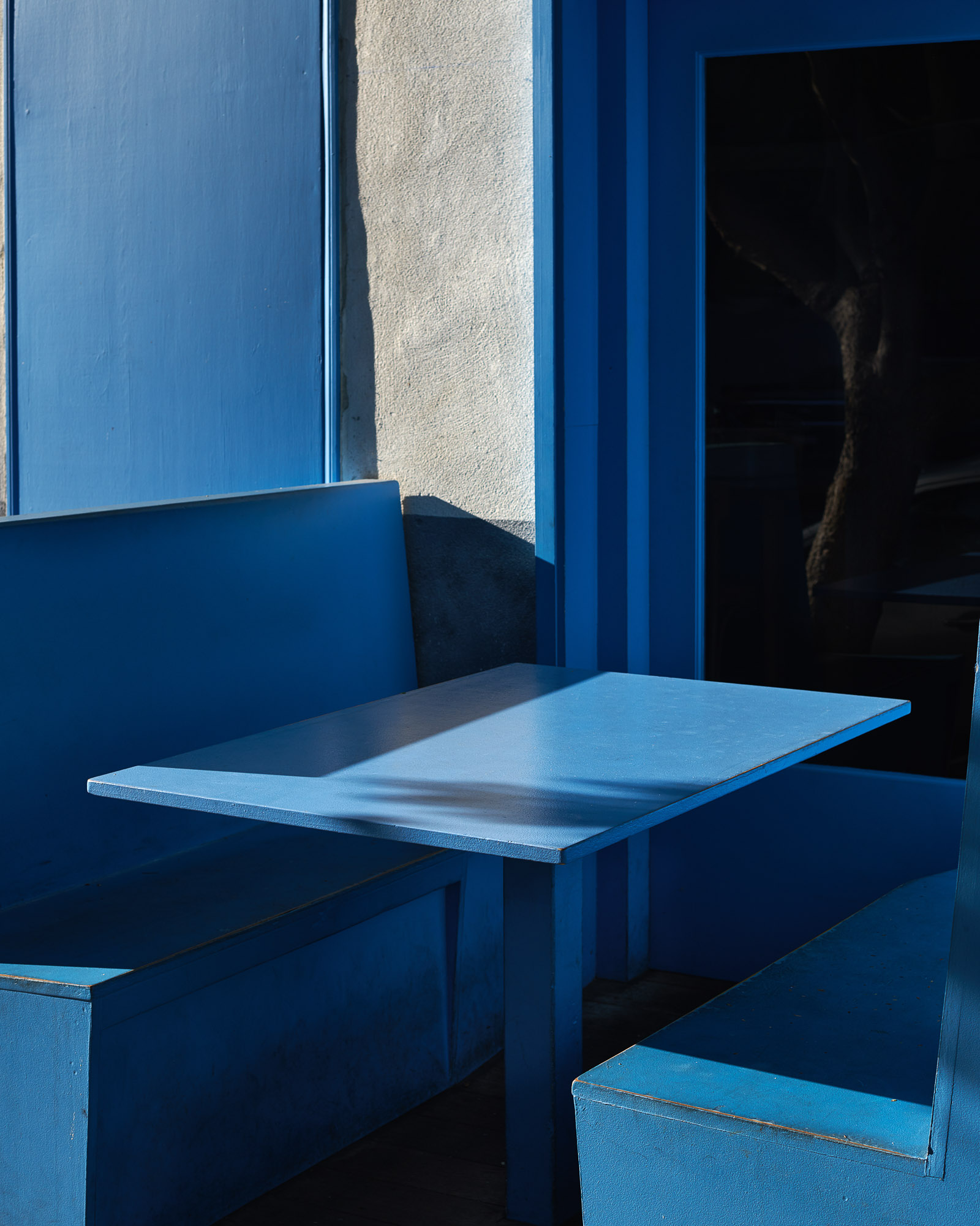 Blue Table Exterior San Francisco