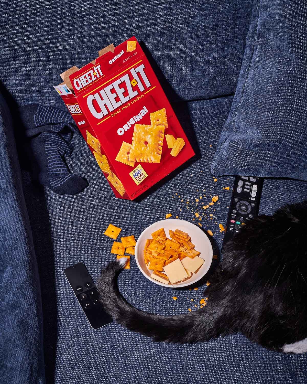 Cheez It Party Remote Shoot