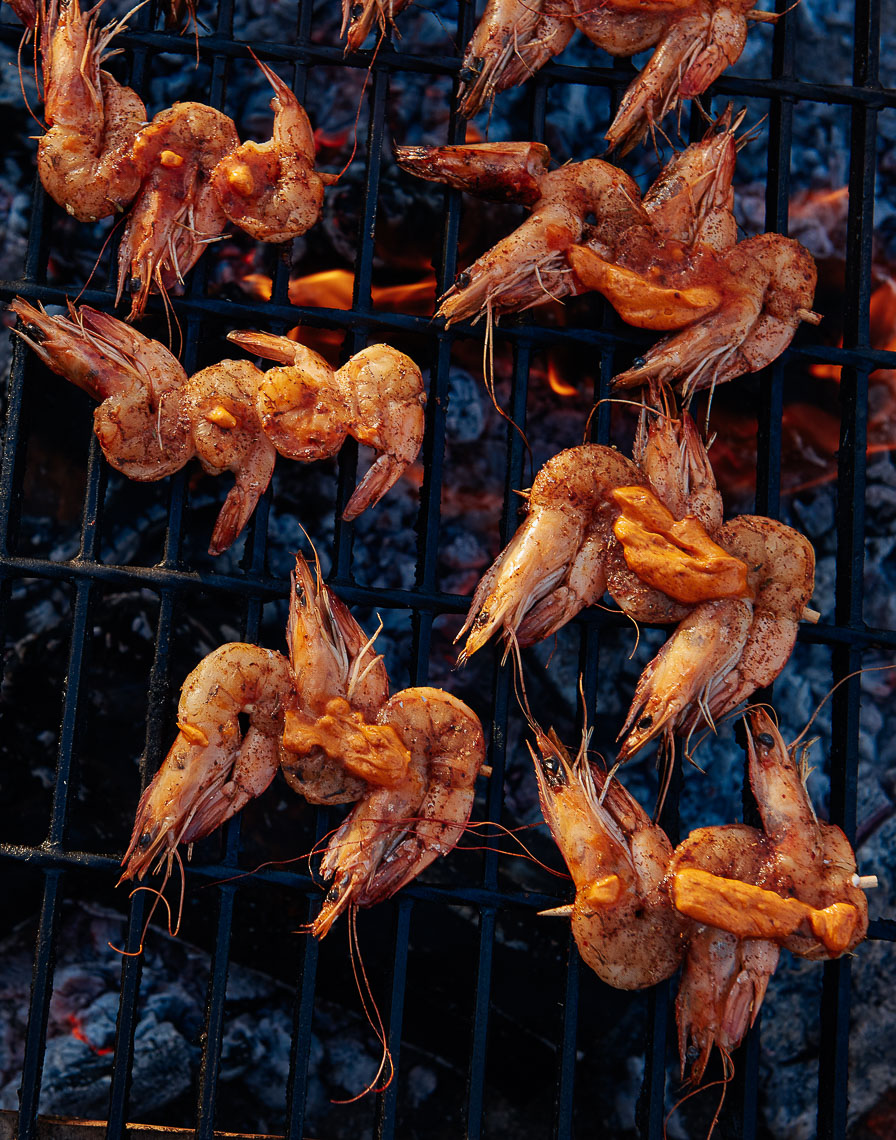 Grilled Shrimp Wine Country
